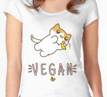 Vegan Women's Fitted Scoop T-Shirt