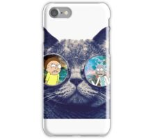 Rick and Morty Cat iPhone Case/Skin