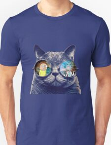 Rick and Morty Cat Unisex T-Shirt