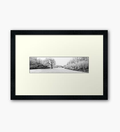Frosty Lytham Hall Framed Print