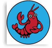 Crayfish Charmer Canvas Print
