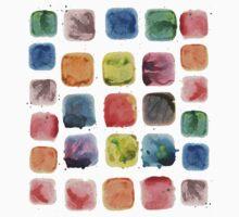 watercolor palette Baby Tee