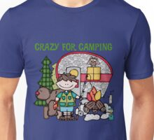 Camping Trip Crazy For Camping Boys Unisex T-Shirt