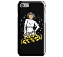 I Kissed a Scoundrel  iPhone Case/Skin