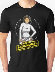 I Kissed a Scoundrel  Unisex T-Shirt