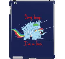 rainbow unicorn bit ghibli iPad Case/Skin