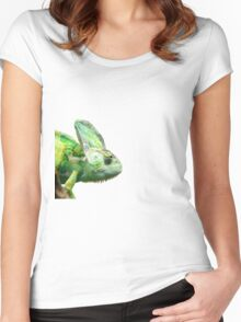 Exotic Reptile Women's Fitted Scoop T-Shirt