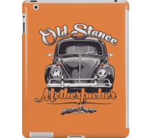 Old Stance Motherfucker iPad Case/Skin
