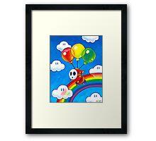 Flight of the Sky Guy Framed Print