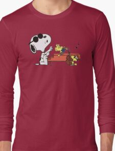 play music group snoopy Long Sleeve T-Shirt