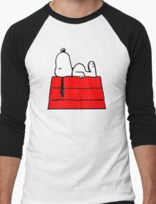 sleeping snoopy huft Men's Baseball ¾ T-Shirt