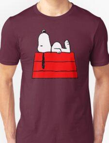 sleeping snoopy huft Unisex T-Shirt