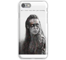 Lexa iPhone Case/Skin