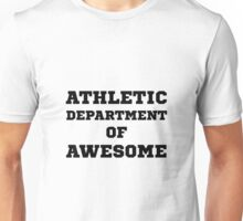 Athletic Department Awesome Unisex T-Shirt