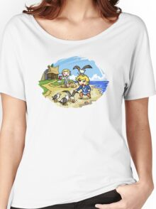 Zelda Wind Waker Link and Aril Women's Relaxed Fit T-Shirt