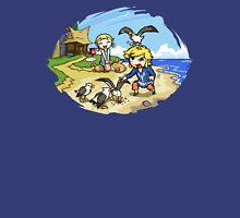 Zelda Wind Waker Link and Aril Unisex T-Shirt