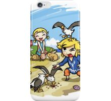 Zelda Wind Waker Link and Aril iPhone Case/Skin