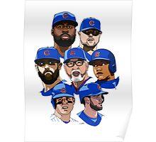 2016 Cubs Poster