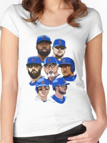 2016 Cubs Women's Fitted Scoop T-Shirt