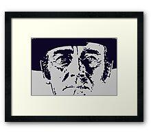Frank Framed Print