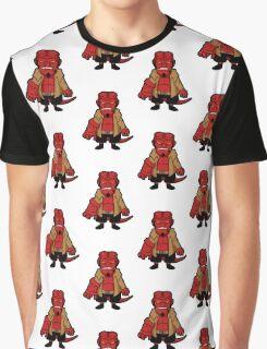 Chibi boy -white- Graphic T-Shirt