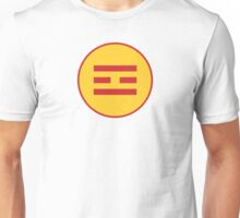I Ching Fire Trigram ( Li ) Unisex T-Shirt