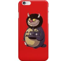 Totoro Unsmaked iPhone Case/Skin