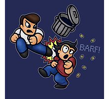 River City Ransom Barf Photographic Print