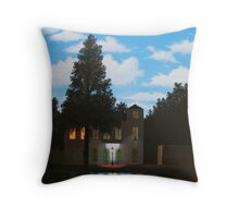 Empire of Light - Magritte Throw Pillow