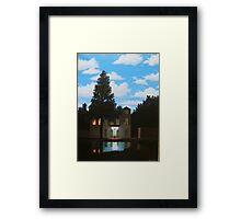 Empire of Light - Magritte Framed Print