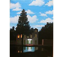 Empire of Light - Magritte Photographic Print
