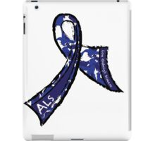 ALS Ribbon iPad Case/Skin