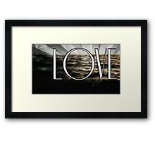 What Love Has To Do With It Framed Print