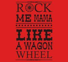 Wagon Wheel Funny One Piece - Long Sleeve