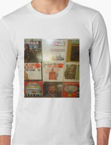 Vintage Records Collection 1B Long Sleeve T-Shirt