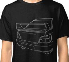 sti outline - white Classic T-Shirt