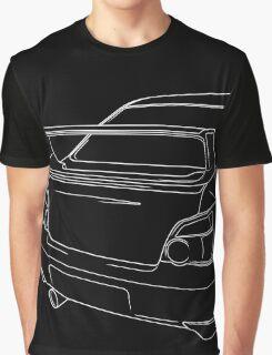 sti outline - white Graphic T-Shirt