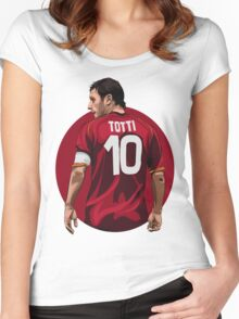 TOTTI Women's Fitted Scoop T-Shirt