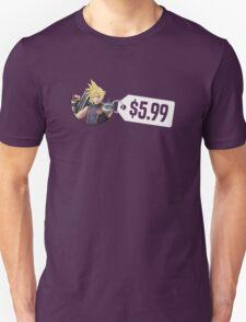 Smash Bros Cloud $5.99 Unisex T-Shirt