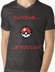 Catch Me If You Can Mens V-Neck T-Shirt