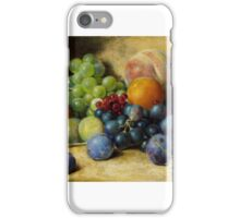 William Henry Hunt - Fruit iPhone Case/Skin