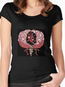 brain of cuthulu form 2  Women's Fitted Scoop T-Shirt