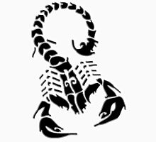 Scorpion, Sting, Stinger, Black, Tattoo, Gang Unisex T-Shirt