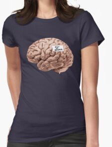 Out of Order Brain Womens Fitted T-Shirt