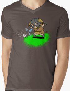 Lil' Dovah Mens V-Neck T-Shirt