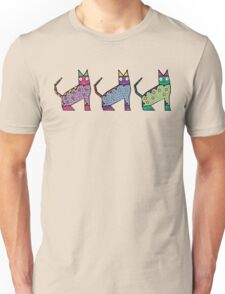 Aztec Kitties Unisex T-Shirt