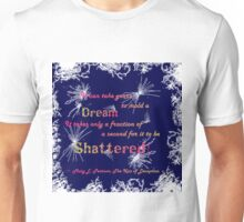 The Kiss of Deception - Shattered (Dark Blue) Unisex T-Shirt