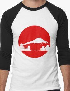 Fujiyama Men's Baseball ¾ T-Shirt