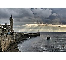 Evening Sky, Porthleven Photographic Print