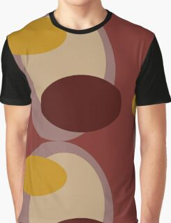 70s style pattern - maroon Graphic T-Shirt